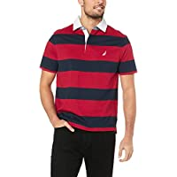 Nautica Men's YD Shipman Polo RED