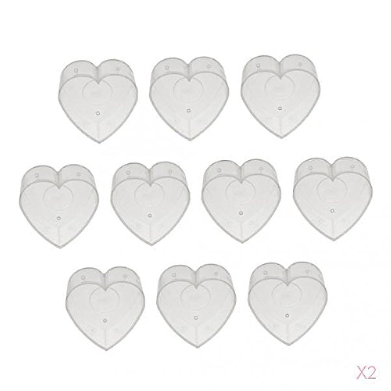 Perfk ティーライトカップ キャンドル ワックスコンテナ 長寿命 高安全性 耐熱性 金型カップ 透明 ロマンティック 約20個入り
