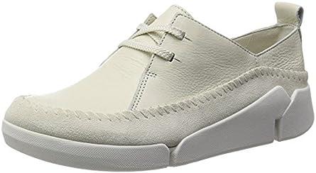 [クラークス] Clarks スニーカー Tri Angel 26115638 Off White Combi Leather (オフホワイトコンビレザー/UK 050)