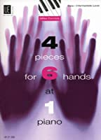 4 Pieces for 6 Hands at 1 Piano: UE21300