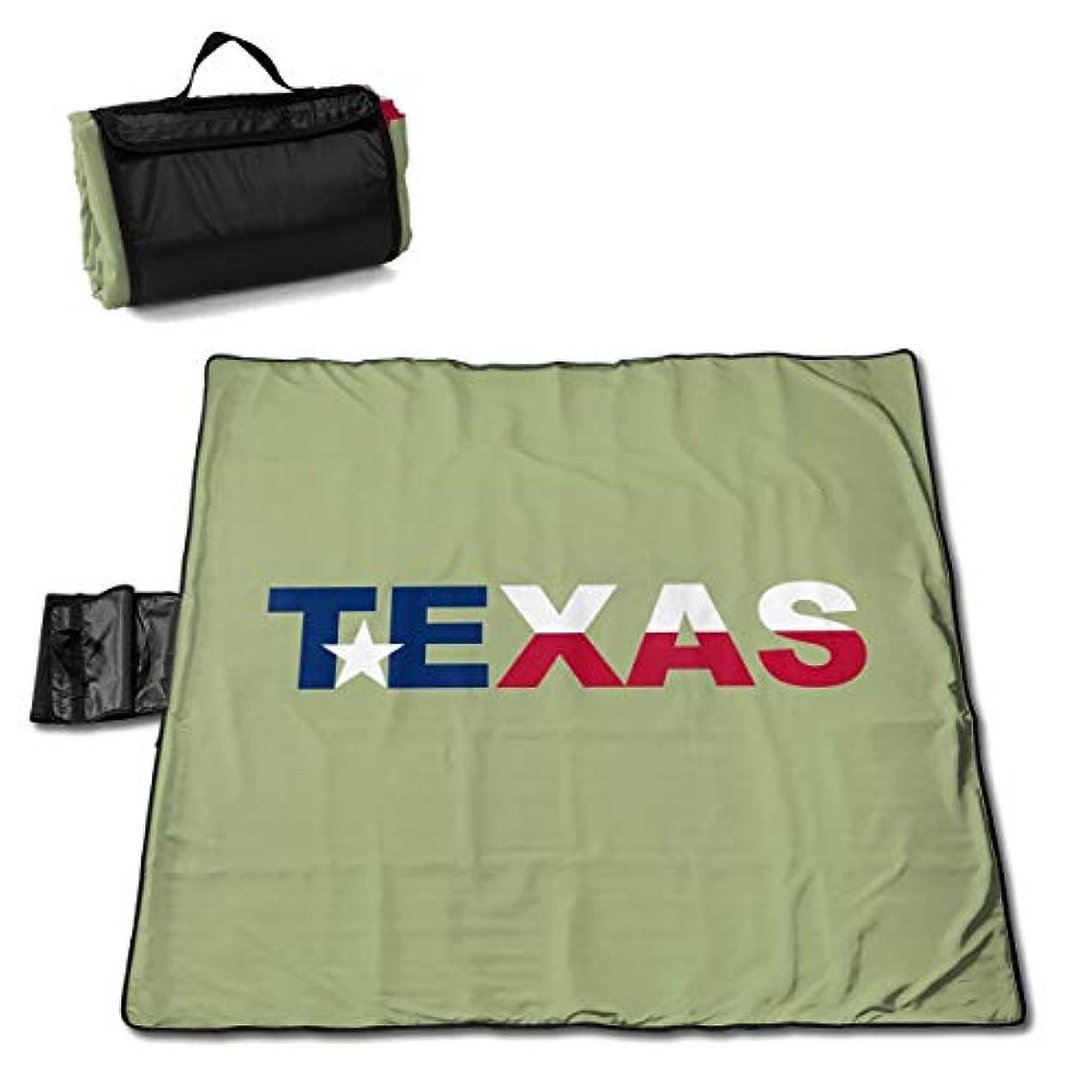 きつく主張するドナーテキサス州の旗 ピクニックマット レジャーシート ファミリー レジャーマット 防水 防潮 マット 折り畳み 持ち運び便利 四季適用び おしゃれ花火大会 運動会 遠足 キャンプ 145×150cm