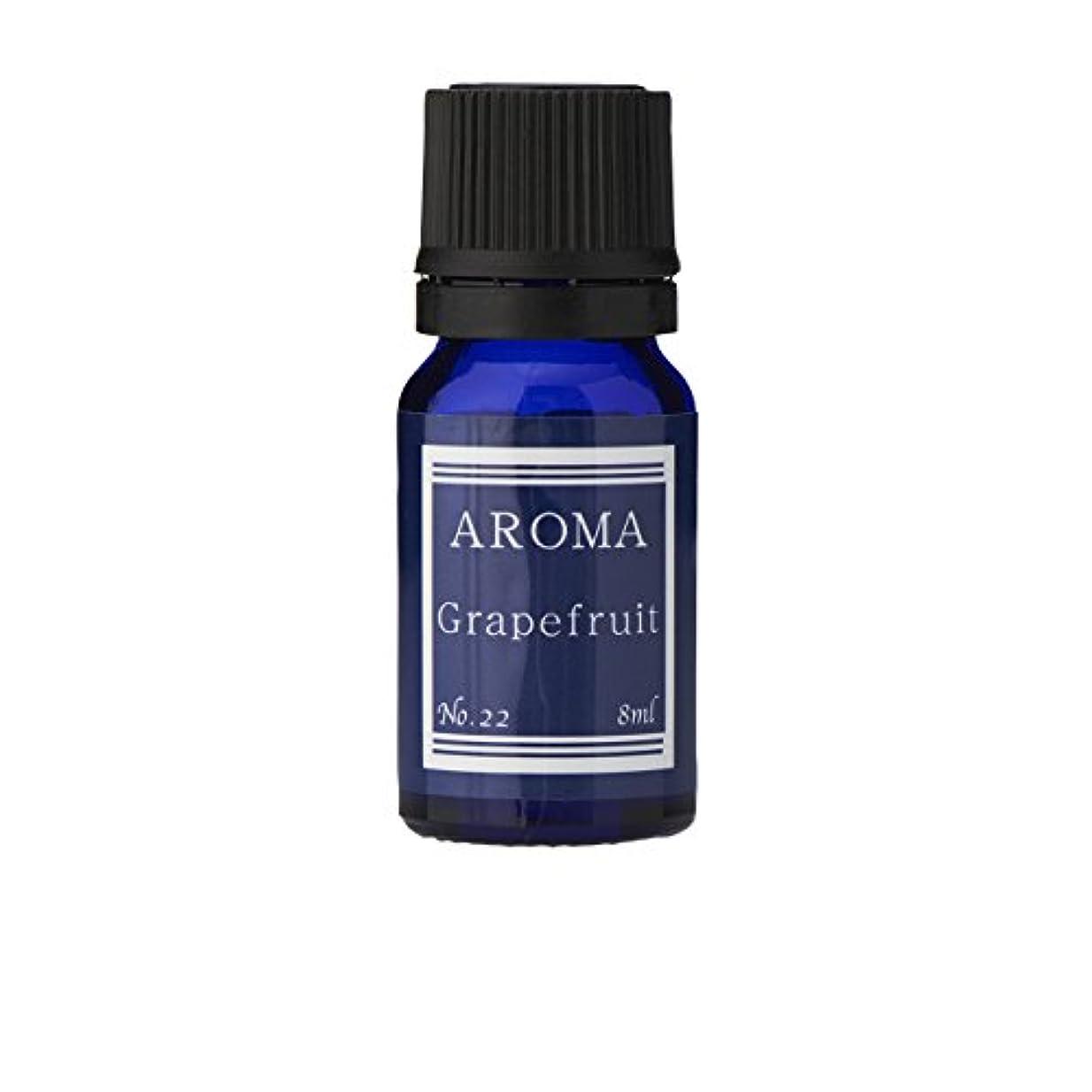 シェードピケモットーブルーラベル アロマエッセンス8ml グレープフルーツ(アロマオイル 調合香料 芳香用)