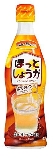 アサヒ飲料 ほっとしょうが 希釈用 470mlペットボトル×12本入×(2ケース)
