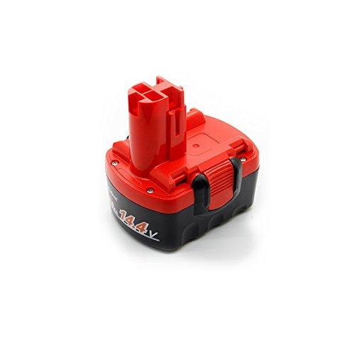 LENOGE ボッシュ 14.4V BAT038 BAT040 2607335** 互換 バッテリー BOSCH 2607335711 2607335534 BAT041 BAT140 BAT159 工具用 ニカド電池 2Ah レッド