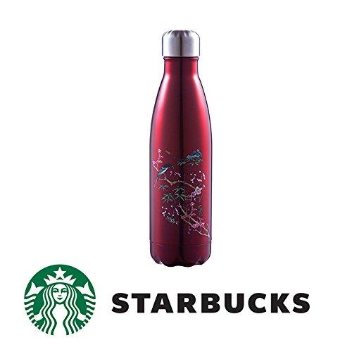 スターバックス Starbucks x VIVIENNE TAM S'Well ステンレス タンブラー (ハンディーステンレスボトル /海外限定) スポーツボトル/ 魔法瓶 赤)