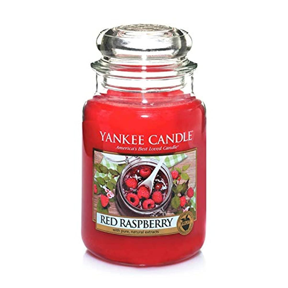 常習者シンクはちみつACAO エッセンシャルオイルアロマキャンドル、大きなガラスの瓶キャンドルソイワックスキャンドル古典的なスタイル (色 : Red raspberry)