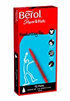 BEROL HANDWRITING PEN BLACK