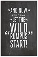 """"""" And now」、Cried最大、「Let The Wild Rumpus開始」"""