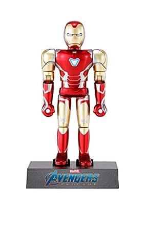 超合金HEROES アベンジャーズ アイアンマンマーク85 約100mm ダイキャスト&ABS製 塗装済み可動フィギュア