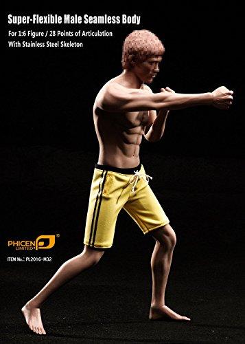 ファイセン・リミテッド 素対 1/6スケール 超柔軟性シームレス男性素体 アジア系男性 筋肉質たくましい 中肉タイプ 頭部含みません(PL2016-M32)
