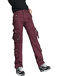 GETS(ゲッツ) パンツ カーゴ チノパン ロングパンツ レディース スリムパンツ ポケット付き テーパードパンツ 美脚 ストレッチパンツ ロングパンツ 通勤 通学 オフィス