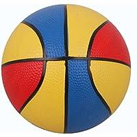 弾力バスケットボールインドアアウトドアスポーツボール子供おもちゃギフト、インフレータブルポンプバスケットボールスポーツ水泳プールゲームボールの幼児用PVCボール