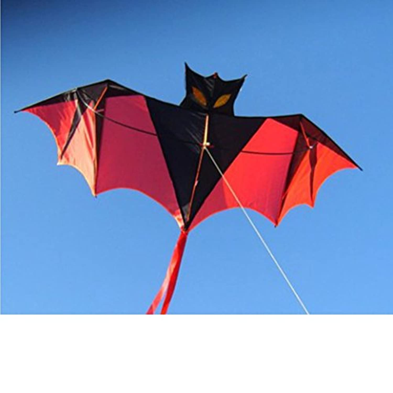 yeefant 1.8 M 70インチVampire Bat Kite One of the Best Selling Toysスポーツ1行ソフトウェア動物Kites FlyingアウトドアGames and Activities for Kids, Good計画Memorable Summer Fun