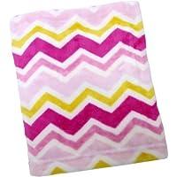 Kimberly Grant Plush Chevron Blanket Girl [並行輸入品]