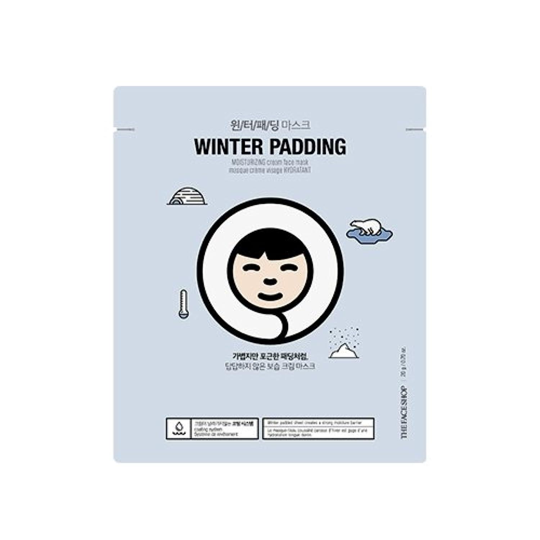 シャワーやがて艦隊THE FACE SHOP Winter Padding Cream Mask (5EA) (1. Moisturizing Cream Mask) / ザフェイスショップ ウインター パッディング クリームマスク(5枚...