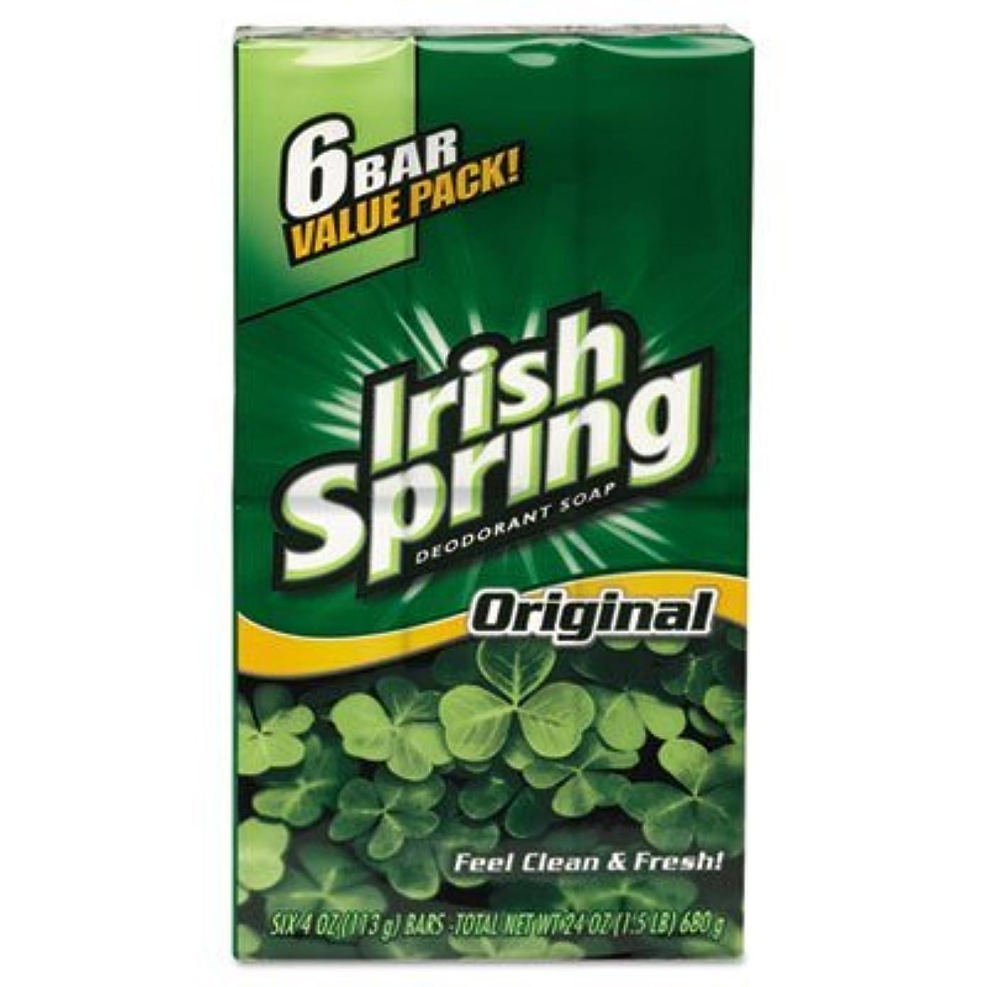 うるさいどれか医療過誤Colgate アイルランドの春デオドラントソープ3.75Oz。 (6バール)