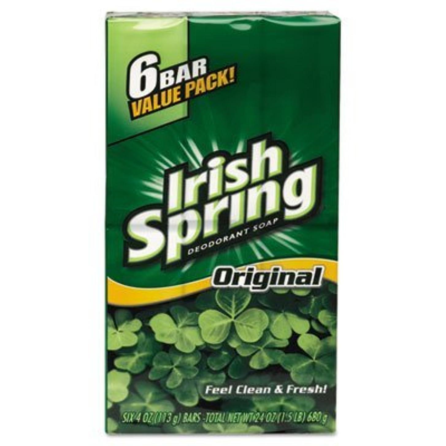 野心減るあいにくColgate アイルランドの春デオドラントソープ3.75Oz。 (6バール)