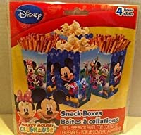 Mickey Mouse Clubhouse Snack Boxes - 4 Count by Disney [並行輸入品]