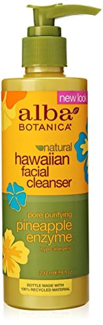 噴火負担腐敗したAlba Botanica Pineapple Enzyme Facial Cleaner 235 ml (並行輸入品)