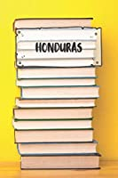 Honduras: Ruled Travel Diary Notebook or Journey  Journal - Lined Trip Pocketbook for Men and Women with Lines