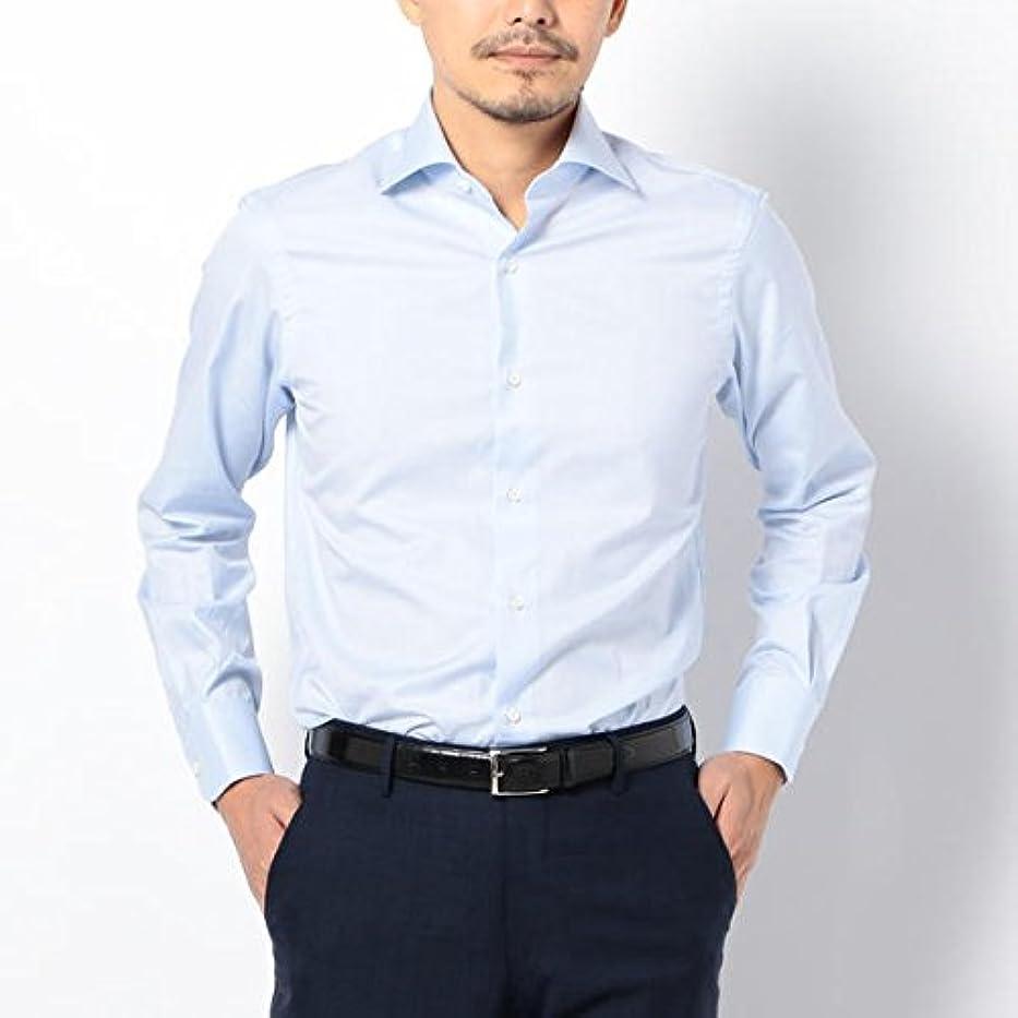 ジャム三番よく話されるシップス(メンズ)(SHIPS) SD:【ALBINI社製生地】ファインフィット ツイル ワイドカラー シャツ【ライトブルー/39】