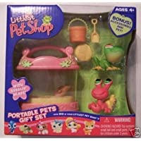 Littlest Pet Shop (リトルペットショップ) Exclusive Portable Pets ギフトセット (ギフトセット) with Tree Frog & Hermit Crab(並行輸入)