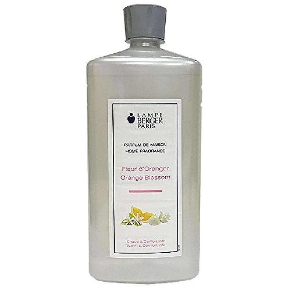 有効な雄弁なプロフィールランプベルジェ アロマオイル(オレンジブロッサム)1L