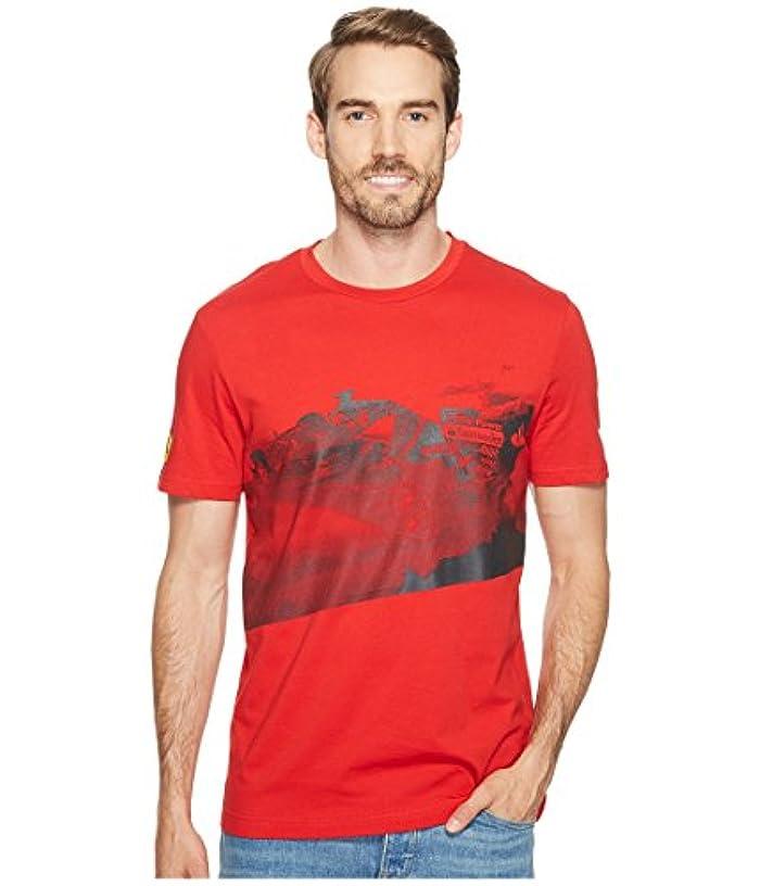 噴火テープバドミントンプーマ トップス シャツ SF Transform Graphic Tee Rosso Cors 1xn [並行輸入品]