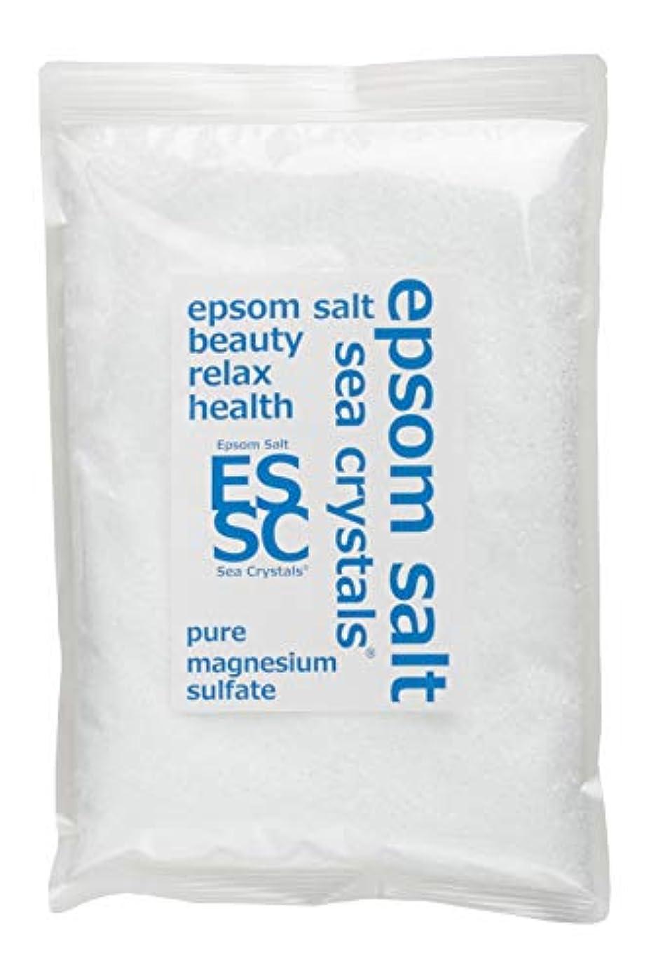 ソブリケットクレタ小間シークリスタルス 900g エプソムソルト 国産 入浴剤 約6回分 無香料 お試しサイズ