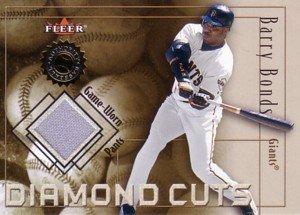 バリー・ボンズ Barry Bonds 2001 Fleer Diamond Cuts Jersey