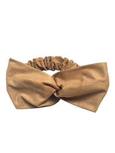 Fashionable fake suede cross turban hair band hair turban hair accessories Ladies [BWS-271] Bohemian yoga gifts gift Christmas birthday gift