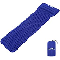 CampLand Sleeping Pad Camping Air Mattress with Pillow for Camping Backpacking