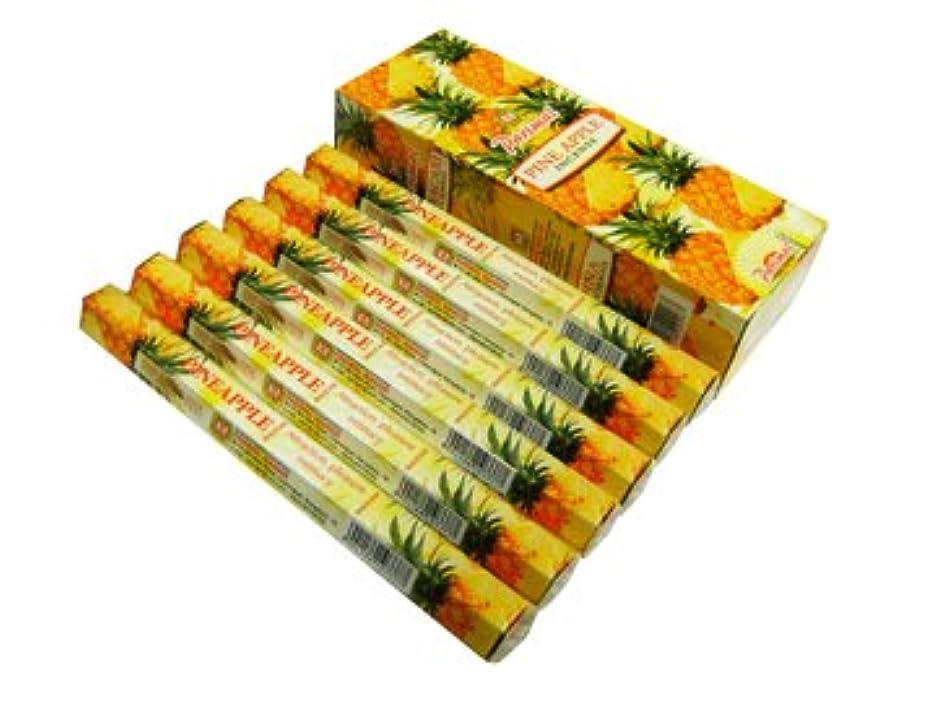 間例示する一族PARIMAL(パリマル) パイナップル香 スティック PINEAPPLE 6箱セット