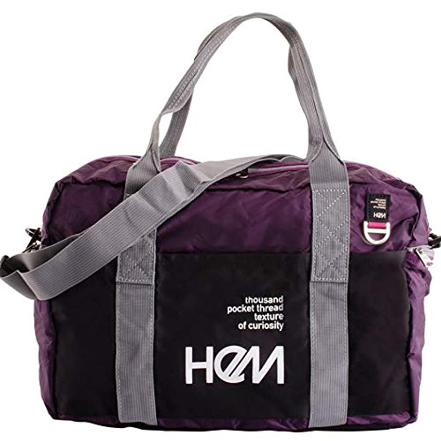 クスコ百宣言HeM ヘム ヘレンズ ボストンバッグ TR-018-03 パープル 39-33100-PL