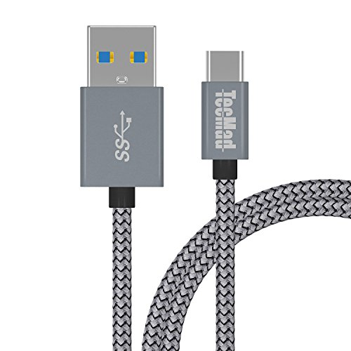 USB Type C ケーブル 【 2m グレー 】TacM...