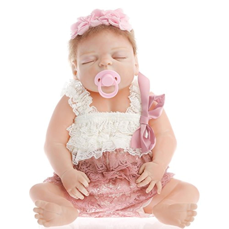 NPK collection Rebornベビー人形リアルな赤ちゃん人形ビニールシリコン赤ちゃん22インチ55 cmノーブルプリンセス人形
