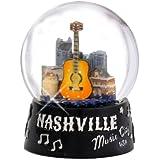 ナッシュビル スノーグローブ Music City USA 65mm スノーグローブ テネシーギフトコレクション