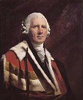 手書き-キャンバスの油絵 - 美術大学の先生直筆 - The First Viscount Melville Scottish portrait painter Henry Raeburn 絵画 洋画 複製画 ウォールアートデコレーション -サイズ09