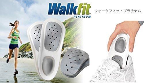 【 New!! 】  Walk fit PLATINUM / ウォークフィット プラチナ  ( 日本販売名: Walk free / ウォークフリー ) M サイズ ( 24 ~ 25.5 cm ) 海外正規品