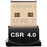 U-Pick Bluetooth USB Version 4.0 ドングル USBアダプタ Windows10/Windows8/Windows7/Vistaに対応(Macに非対応)
