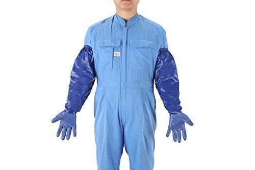 [해외]에스코 L650mm 장갑 내산 · 내유성 · 내용 제성 EA354BW-29/Esco L 650 mm glove acid resistant~ oil resistant~ solvent resistant EA 354 BW - 29