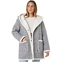 Swell Women's Eska Sherpa Lined Jacket Wool Grey