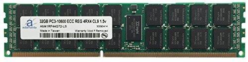Adamanta 32GB ( 1x 32gb ) Appleメモリアップグレードfor Mac Pro 2013( 12コア) 2.7GHz ddr31333MHz pc3–10600ECC REGISTERED 4rx4cl91.35V