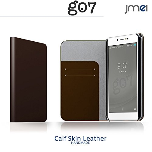 g07+ goo g07 ケース 本革 手帳型スマホケース 全機種対応 ブランド g07プラス ケース レザー ケース 手帳 ZAN ダークブラウン グー グーマル OCN モバイル mobile simフリー covia スマホ カバー スマホケース スマートフォン