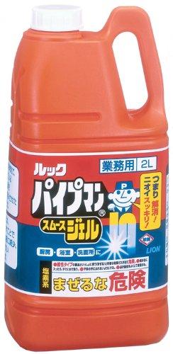 【業務用 大容量】パイプマンスムースジェル パイプクリーナー...