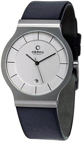 オバック 腕時計 デンマークブランド 日本製クォーツ 38ミ...