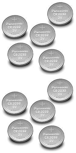 Panasonic コイン形リチウム電池 10個 バルク品 CR2032