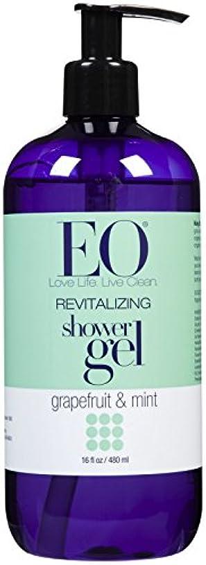 手荷物手伝う砂漠EO Products Grapefruit & Mint Shower Gel 473 ml (並行輸入品)