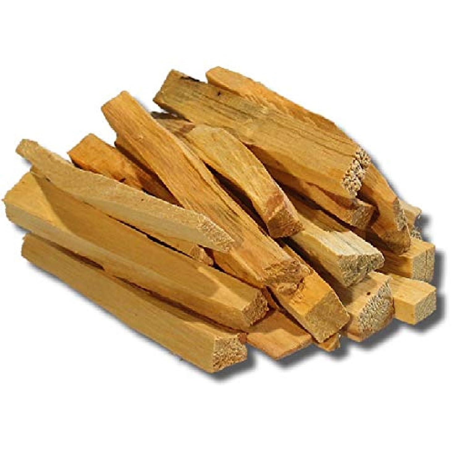 処理する失業スリラーPalo Santo Holy Wood Incense Sticks 11個