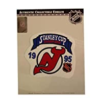 National Emblem PATCHHKYNJDSC95 NHL Stanley Cup Champions Patch- New Jersey Devils 1995